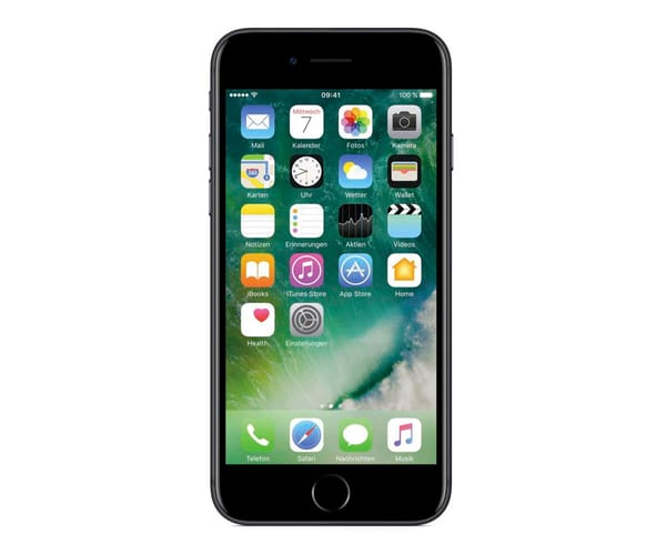 APPLE IPHONE 7 32GB NEGRO MATE MÓVIL 4G 4.7'' IPS/4CORE/32GB/2GB RAM/12MP OIS/7MP