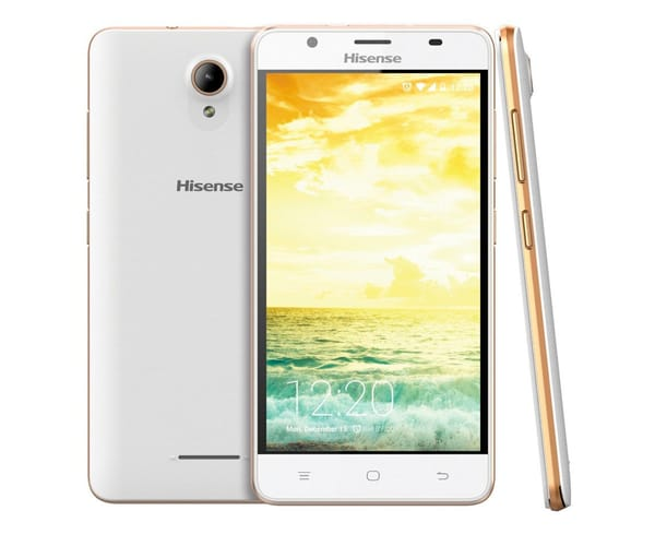 HISENSE U989 BLANCO MÓVIL 3G DUAL SIM 5.5'' IPS HD/4CORE/8GB/1GB RAM/8MP/5MP