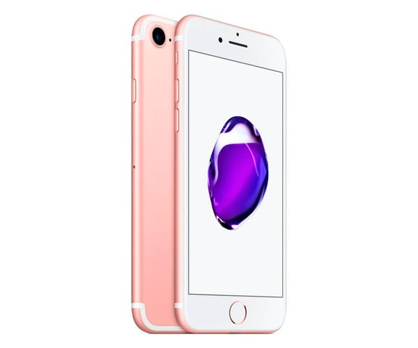 APPLE IPHONE 7 128GB DORADO ROSA MÓVIL 4G 4.7'' IPS/4CORE/128GB/2GB RAM/12MP OIS/7MP