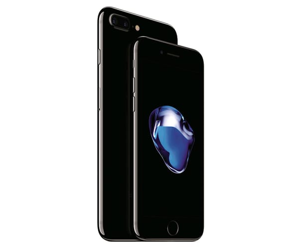 APPLE IPHONE 7 PLUS 256GB NEGRO BRILLANTE MÓVIL 4G 5.5'' IPS/4CORE/256GB/3GB RAM/12MP DUAL OIS/7MP