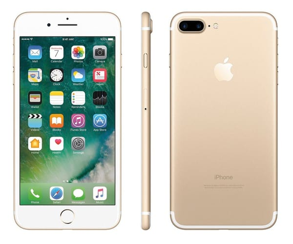 APPLE IPHONE 7 128GB DORADO MÓVIL 4G 4.7'' IPS/4CORE/128GB/2GB RAM/12MP OIS/7MP (CONTRATO)