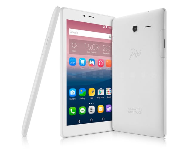 ALCATEL PIXI 4 (7) BLANCO TABLET 3G 7'' TFT/4CORE/8GB/1GB RAM/5MP/2MP