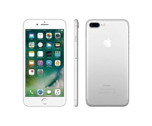APPLE IPHONE 7 PLUS 32GB PLATA MÓVIL 4G 5.5'' IPS/4CORE/128GB/3GB RAM/12MP DUAL OIS/7MP