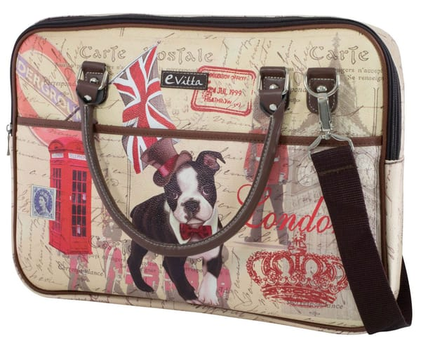 E-VITTA TRENDY LAPTOP DOG MALETÍN PORTÁTIL 15.4'' - 16''
