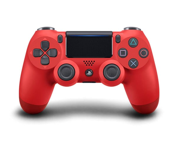 SONY DUALSHOCK PS4 2016 ROJO MANDO INALÁMBRICO PS4