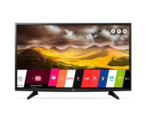 LG 49LH570 TELEVISOR 49'' FULL HD 450 HZ SMART TV WIFI CON USB REPRODUCTOR