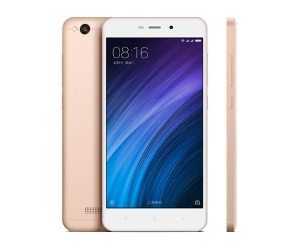 XIAOMI REDMI 4A DORADO MÓVIL 4G DUAL SIM 5'' IPS/4CORE/16GB/2GB RAM/13MP/5MP