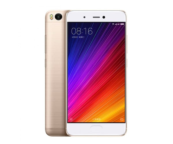 XIAOMI Mi5s 64GB DORADO MÓVIL DUAL SIM 4G IPS 5.15''/4CORE/64GB/3GB RAM/12MP /4MP