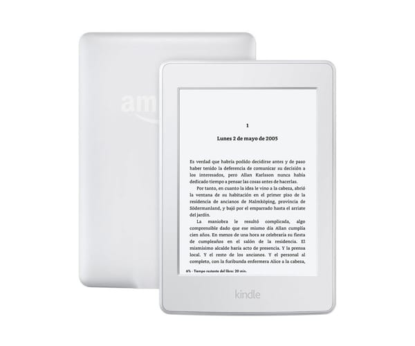 AMAZON KINDLE PAPERWHITE BLANCO