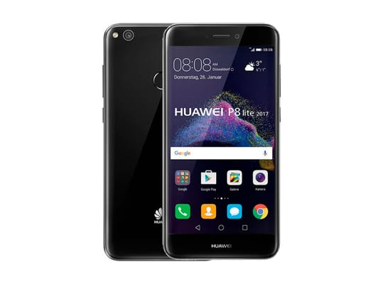 HUAWEI P8 LITE 2017 NEGRO MÓVIL 5.2'' IPS LED/ 8CORE/ 16GB/ 3GB/ 12MP/ 8MP