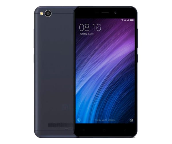 XIAOMI REDMI 4A GRIS MÓVIL 4G DUAL SIM 5'' IPS/4CORE/32GB/2GB RAM/13MP/5MP