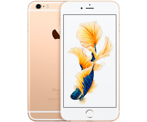 APPLE IPHONE 6S PLUS 128GB ORO REACONDICIONADO CPO MÓVIL 4G 5.5'' RETINA FHD/2CORE/128GB/2GB RAM/12MP/5MP