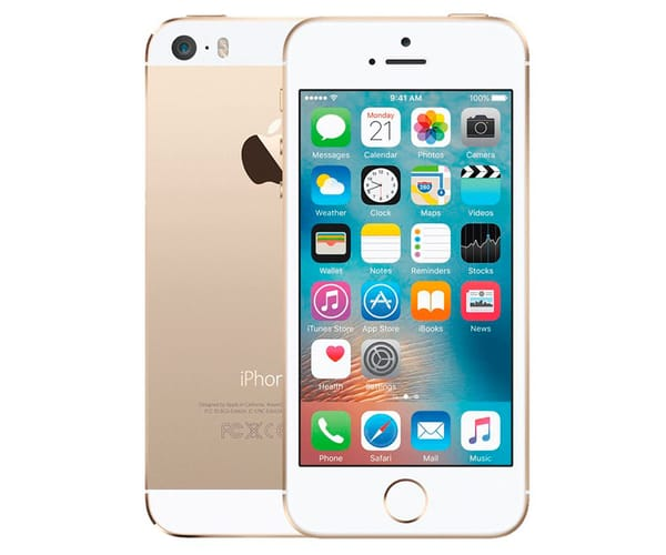 APPLE IPHONE 5S 16GB ORO REACONDICIONADO CPO MÓVIL 4G 4'' RETINA IPS/2CORE/16GB/1GB RAM/8MP/1.2MP