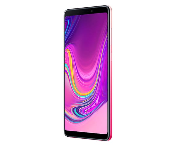 SAMSUNG GALAXY A9 ROSA MÓVIL 4G DUAL SIM 6.3'' SUPER AMOLED FHD+/8CORE/128GB/6GB RAM/24MP+10MP+5MP+8MP/24MP