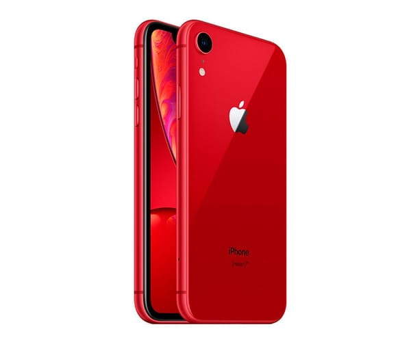 APPLE IPHONE XR 64GB ROJO MÓVIL 4G 6.1'' LIQUID RETINA HD LED HDR/6CORE/64GB/3GB RAM/12MP/7MP