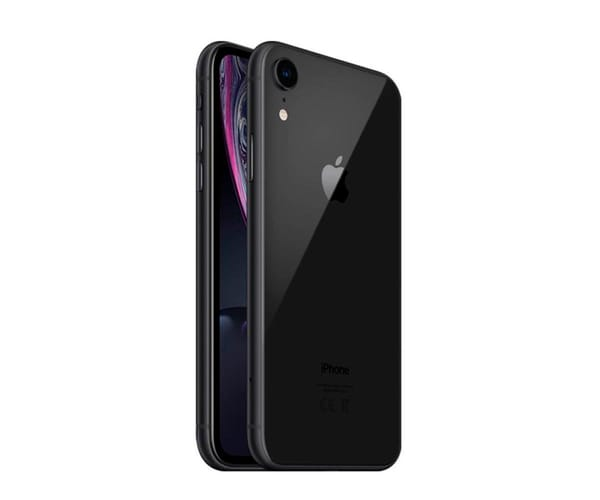 APPLE IPHONE XR 64GB NEGRO MÓVIL 4G 6.1'' LIQUID RETINA HD LED HDR/6CORE/64GB/3GB RAM/12MP/7MP