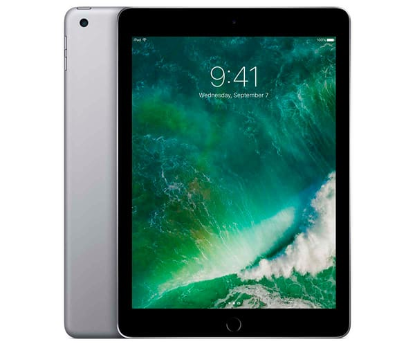 APPLE IPAD 128GB WIFI GRIS ESPACIAL TABLET 9.7'' RETINA/128GB/2G RAM/8MP/1.2MP