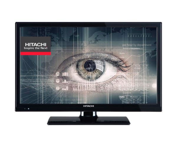 HITACHI 22HBC06 TELEVISOR 22'' LCD LED FULL HD 100Hz HDMI VGA USB REPRODUCTOR MULTIMEDIA