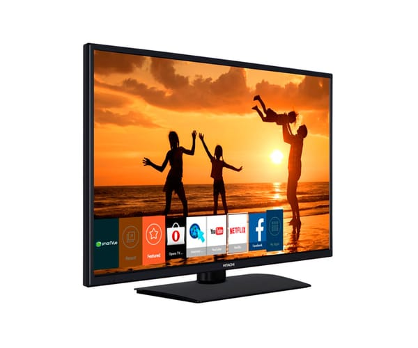 HITACHI 39HB4T62 TELEVISOR 39'' LCD LED FULL HD 200Hz SMART TV WIFI HDMI VGA USB REPRODUCTOR MULTIMEDIA