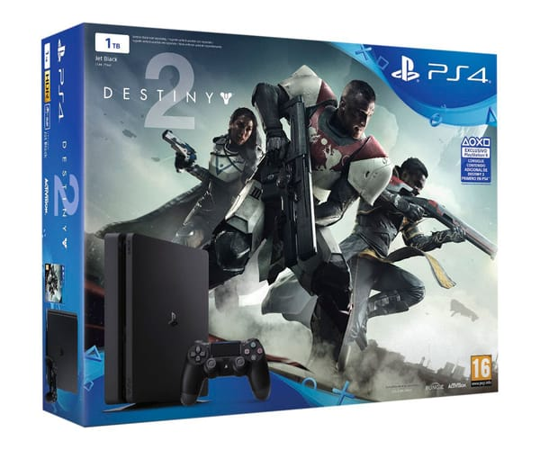 SONY PLAYSTATION 4 SLIM 1 TB + DESTINY 2 + ¡HAS SIDO TÚ! + MANDO DUALSHOCK 4