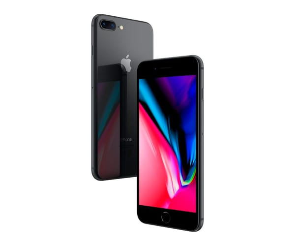 APPLE IPHONE 8 PLUS 64GB GRIS ESPACIAL MÓVIL 4G 5.5'' RETINA FHD/6CORE/64GB/3GB RAM/12MP+12MP/7MP
