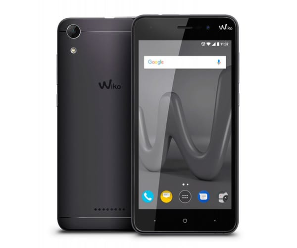 WIKO LENNY4 NEGRO MÓVIL 3G DUAL SIM 5'' IPS HD/4CORE/16GB/2GB RAM/8MP/5MP
