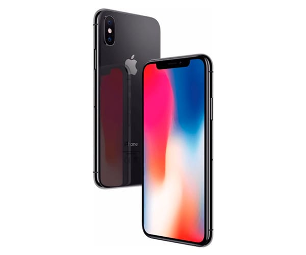 APPLE IPHONE X 256GB GRIS ESPACIAL MÓVIL 4G 5.8'' SUPER RETINA OLED HDR/6CORE/256GB/3GB RAM/12MP+12MP/7MP