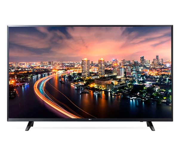 LG 55UJ620V TELEVISOR 55'' IPS LED UHD 4K HDR SMART TV WEBOS 3.5 WIFI BLUETOOTH LAN HDMI USB GRABADOR Y REPRODUCTOR MULTIMEDIA