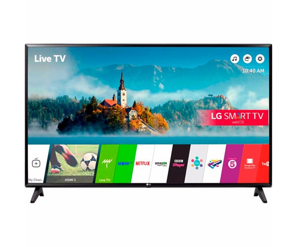 LG 43LJ594V TELEVISOR 43'' LCD LED FULL HD SMART TV WEBOS 3.5 WIFI