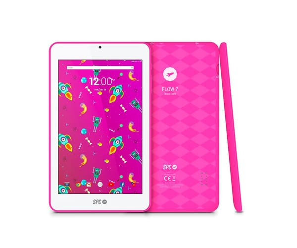 SPC FLOW 7 ROSA TABLET WIFI 7.0''/4CORE/8GB/1GB RAM/VGA