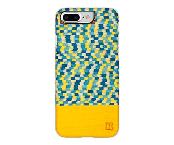 MAN&WOOD HARMONY YELLOW CARCASA DE MADERA APPLE IPHONE 7PLUS/8 PLUS