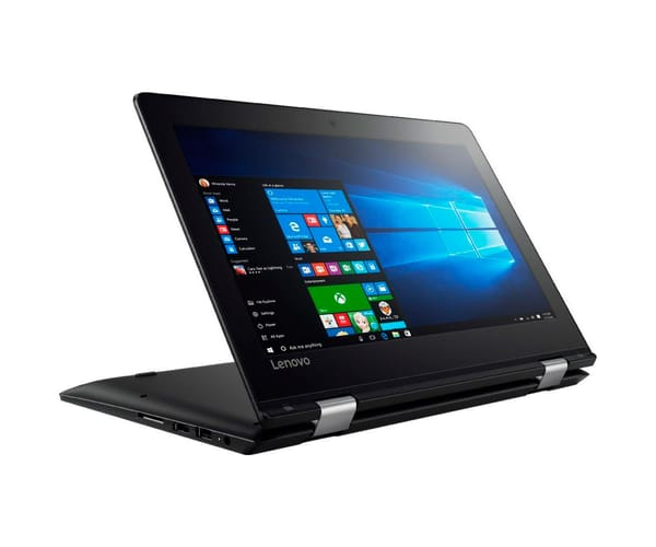 LENOVO YOGA 310-11IAP NEGRO PORTÁTIL 11.6'' LCD LED HD READY TÁCTIL ABATIBLE/N3350 1.10GHz/32GB eMMC/2GB RAM/W10 HOME