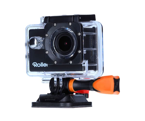 ROLLEI ACTIONCAM 525 NEGRO CÁMARA DE ACCIÓN VÍDEOS EN UHD 4K 25FPS 16MP WIFI INTEGRADO GRAN ANGULAR 160º