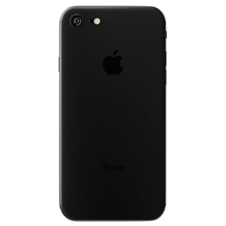 3MK NATURALCASE NEGRO CARCASA APPLE IPHONE IPHONE 8 DE ALTA CALIDAD