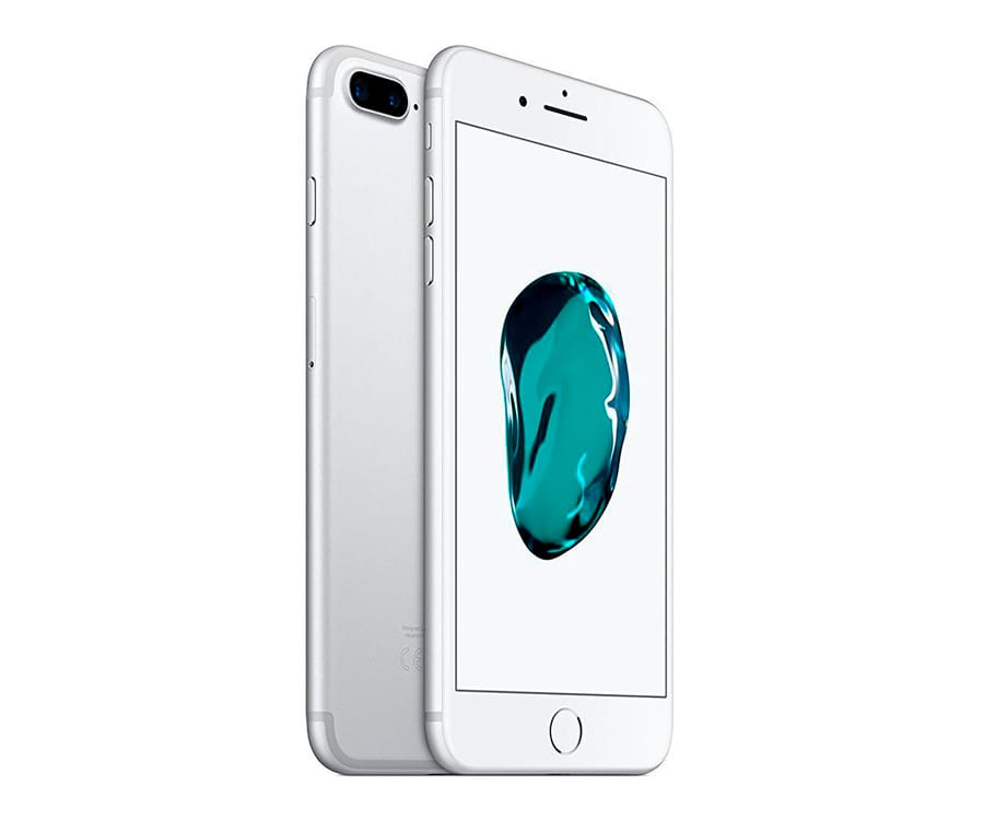 APPLE IPHONE 7 PLUS 256GB PLATA REACONDICIONADO CPO MÓVIL 4G 5.5'' RETINA FHD/4CORE/256GB/3GB RAM/12MP+12MP/7MP