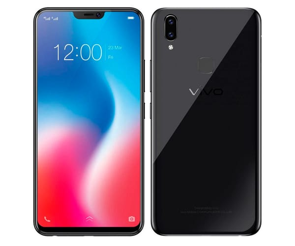 VIVO V9 NEGRO MATE MÓVIL 4G DUAL SIM 6.3'' IPS FHD+/8CORE/64GB/4GB RAM/16MP+5MP/24MP