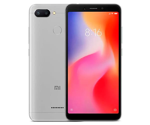 XIAOMI REDMI 6 GRIS MÓVIL 4G DUAL SIM 5.45'' IPS HD+/8CORE/32GB/3GB RAM/12MP+5MP/5MP