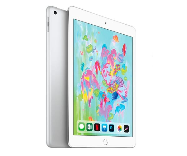 APPLE IPAD (2018) 128GB WIFI PLATA TABLET WIFI 9.7'' RETINA/128GB/2GB RAM/8MP/1.2MP