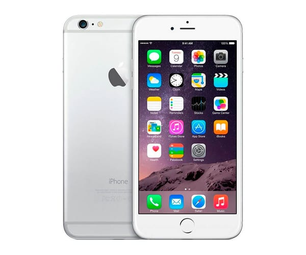 APPLE IPHONE 6 16GB PLATA REACONDICIONADO CPO MÓVIL 4G 4.7'' RETINA HD/2CORE/16GB/1GB RAM/8MP/1.2MP