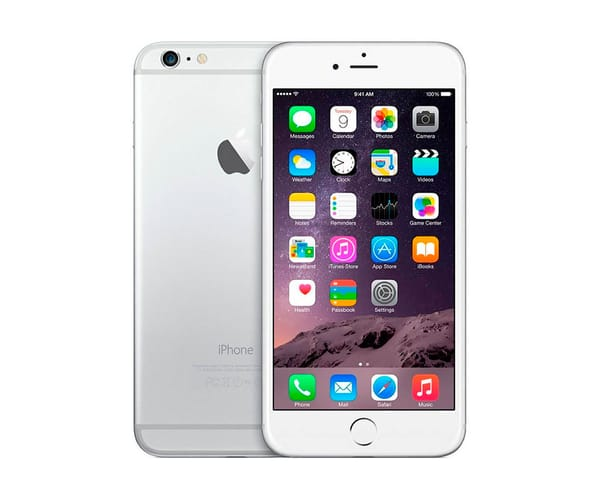 APPLE IPHONE 6 64GB PLATA REACONDICIONADO CPO MÓVIL 4G 4.7'' RETINA HD/2CORE/64GB/1GB RAM/8MP/1.2MP