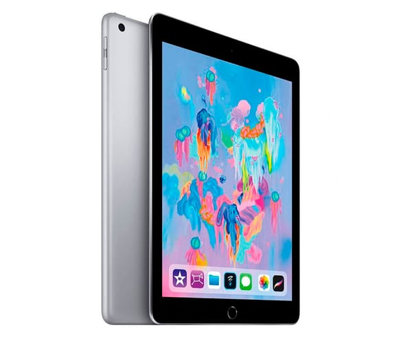 APPLE IPAD (2018) 32GB 4G GRIS ESPACIAL TABLET WIFI 9.7'' RETINA/32GB/2GB RAM/8MP/1.2MP
