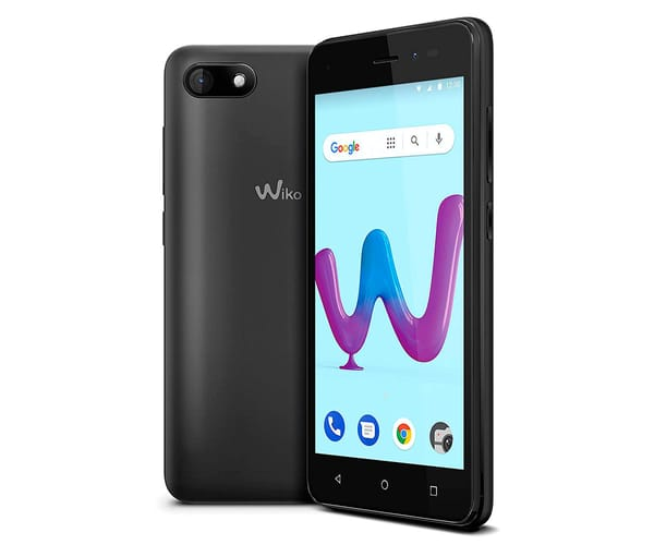 WIKO SUNNY3 ANTRACITA MÓVIL 3G DUAL SIM 5'' TFT FWVGA/4CORE/8GB/512MB RAM/5MP/2MP