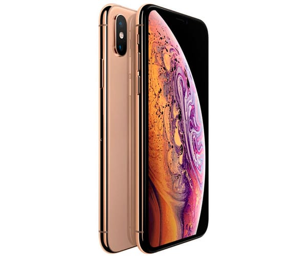 APPLE IPHONE XS MAX 64GB ORO MÓVIL 4G 6.5'' SUPER RETINA HD OLED HDR/6CORE/64GB/4GB RAM/12MP+12MP/7MP