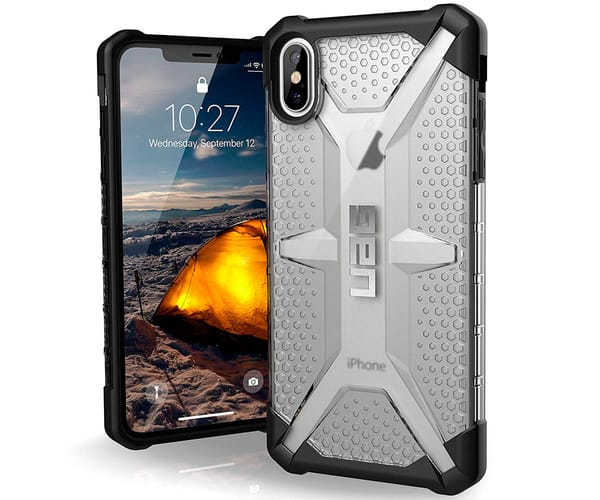 UAG PLASMA CARCASA APPLE IPHONE XS MAX TRANSPARENTE RESISTENTE