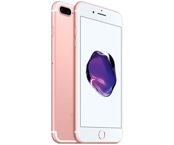 APPLE IPHONE 7 PLUS 128GB ROSA ORO REACONDICIONADO CPO MÓVIL 4G 5.5'' RETINA FHD/4CORE/128GB/3GB RAM/12MP+12MP/7MP