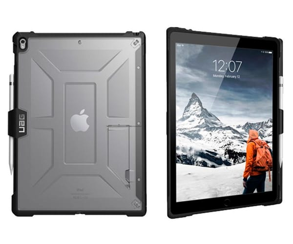 URBAN ARMOR GEAR PLASMA APPLE IPAD 9.7'' FUNDA TRANSPARENTE RESISTENTE