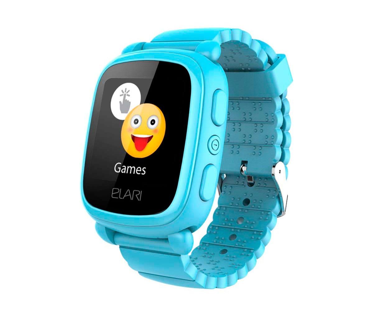 Elari Kidphone 2 Azul Reloj Inteligente Smartwatch Para Ninos Con Localizacion Gps Y Boton Sos Exclusivo