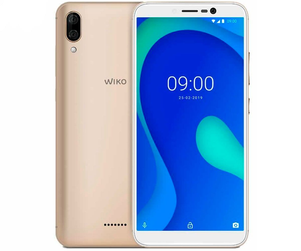 WIKO Y80 DORADO MÓVIL 4G DUAL SIM 5.99'' TFT HD+/8CORE/16GB/2GB RAM/13+2MP/5MP