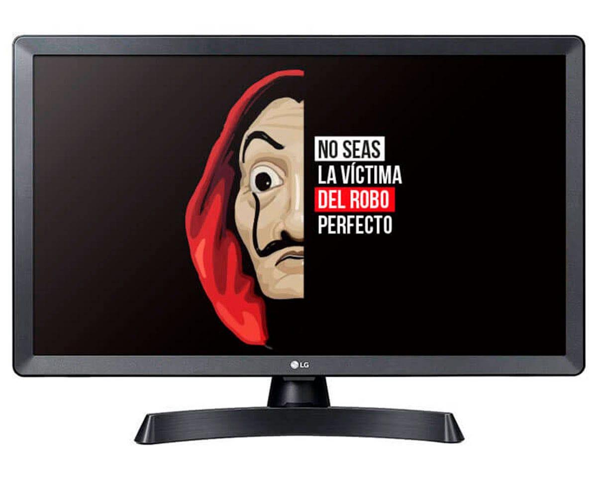 LG 28TL510S-PZ NEGRO TELEVISOR MONITOR 28'' LCD LED HD READY SMART TV