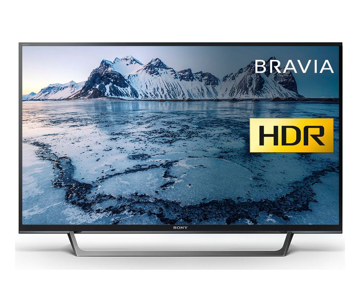 SONY KDL-40WE660 TELEVISOR 40 LCD EDGE LED FULL HD HDR 400Hz SMART TV WIFI HDMI LAN USB REPRODUCTO